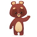 Cartoon Bear Free Download Vector CDR, AI, EPS and PNG Formats