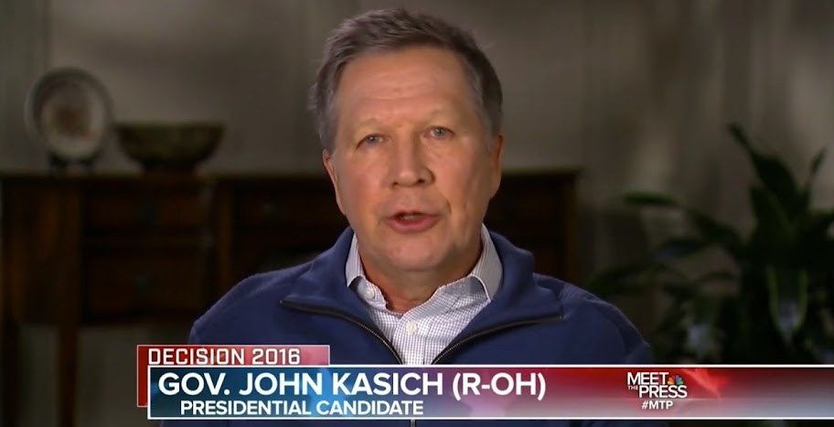 Kasich dropping out