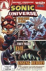 Actualización: 26/07/2017: Se agrega Sonic Universe #42 por Tonyv444 por The Tails Archive y La casita de Amy Rose.