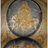 Skleněný basreliéf Nanebevzetí Panny Marie