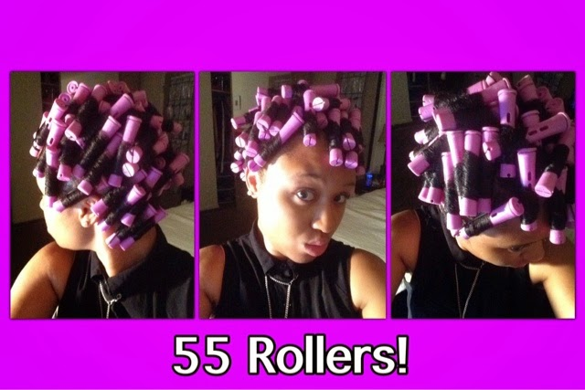 Desire My Natural How To Perm Rod Set On Blown Out Natural Hair