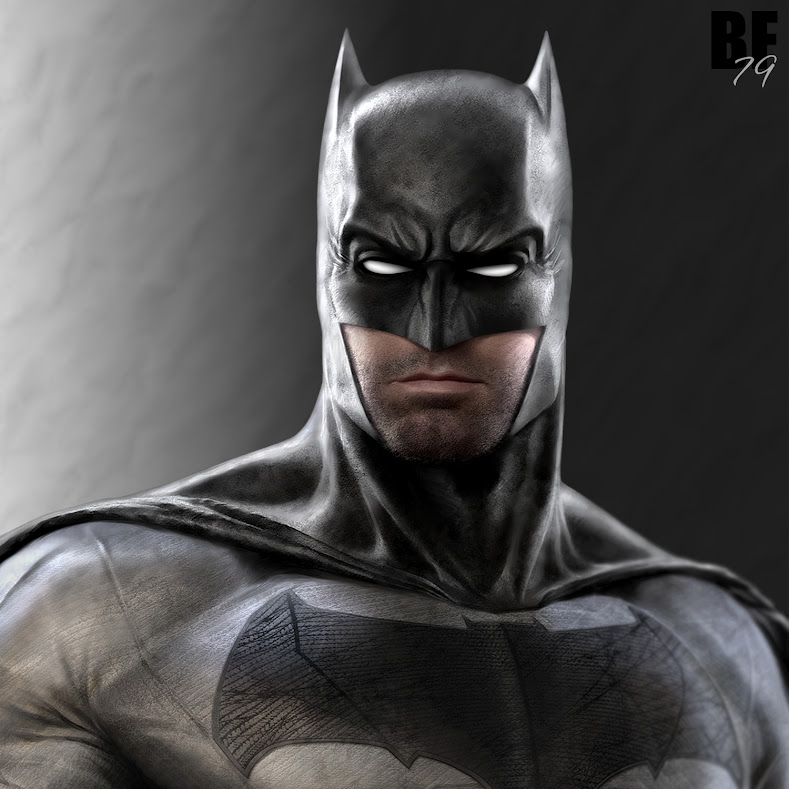 Shadowpact Reborn [Shadowpact] BatFleckConceptBust