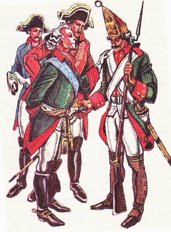 Русские полки и Суворов