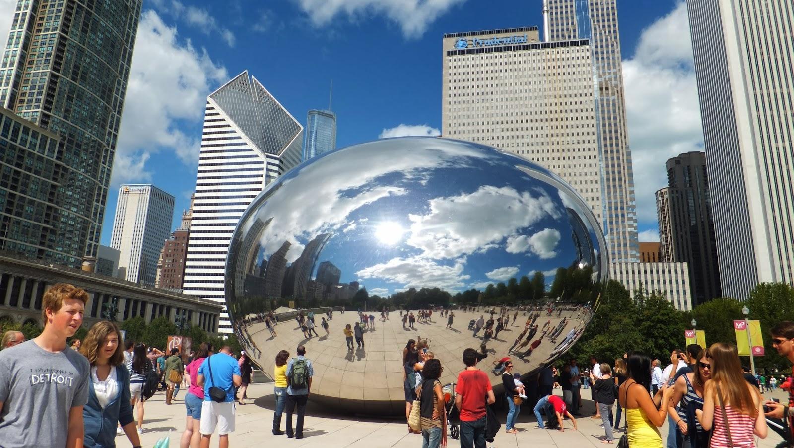 The Bean, Millennium Park, Parque del Milenio, Chicago, Elisa N, Blog de Viajes, Lifestyle, Travel