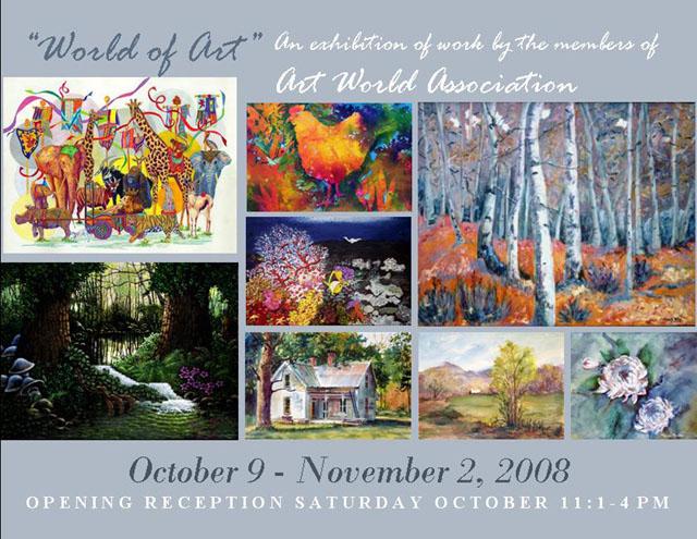 World of Art: An Exhibition of Work by Art World Association
