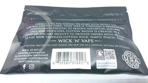 DSC 6606 thumb%255B2%255D - 【コットン/ビルド】「Giantvape Cotton Bacon Ver2.0(ジャイアントベイプコットンベーコンバージョン2.0)by WICK'N' VAPE」レビュー。Kendo Vape Cottonと比較!