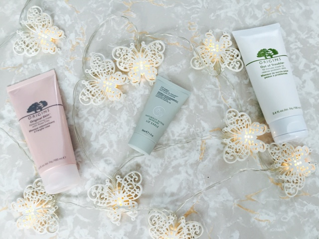 skincare, new in, liz earle, origins, cleanse and polish, rose clay mask, out of trouble mask, round up,