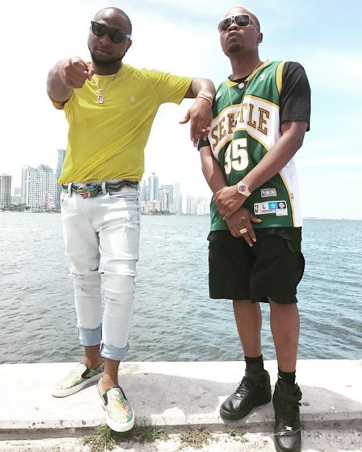 %255BUNSET%255D - Photos From Davido And Olamide Video Shoot In Miami (Photos)