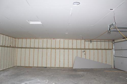 garage sheetrock 1