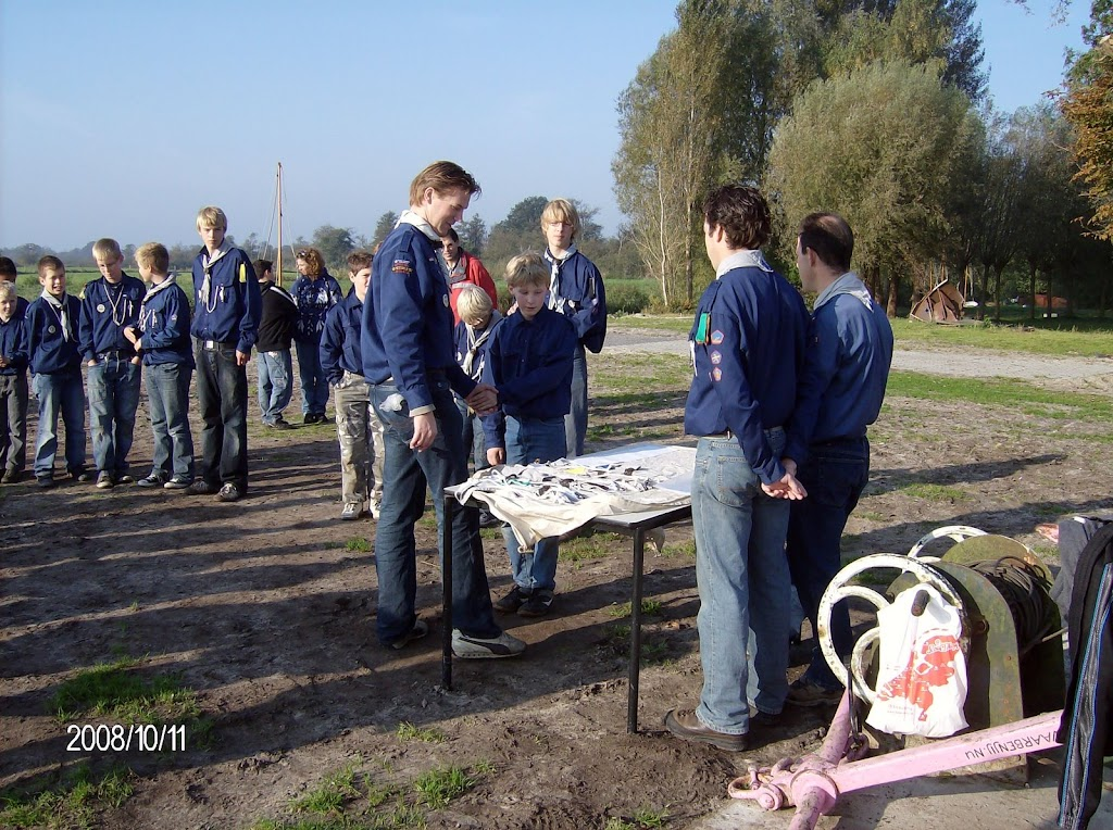 Installatie Bevers, Welpen en Zeeverkenners 2008 - HPIM2170.jpg