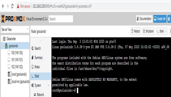 Menghapus Server Nodes (Remove Cluster nodes)  di proxmox VE 6.2