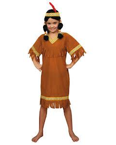 Indianklänning, barn
