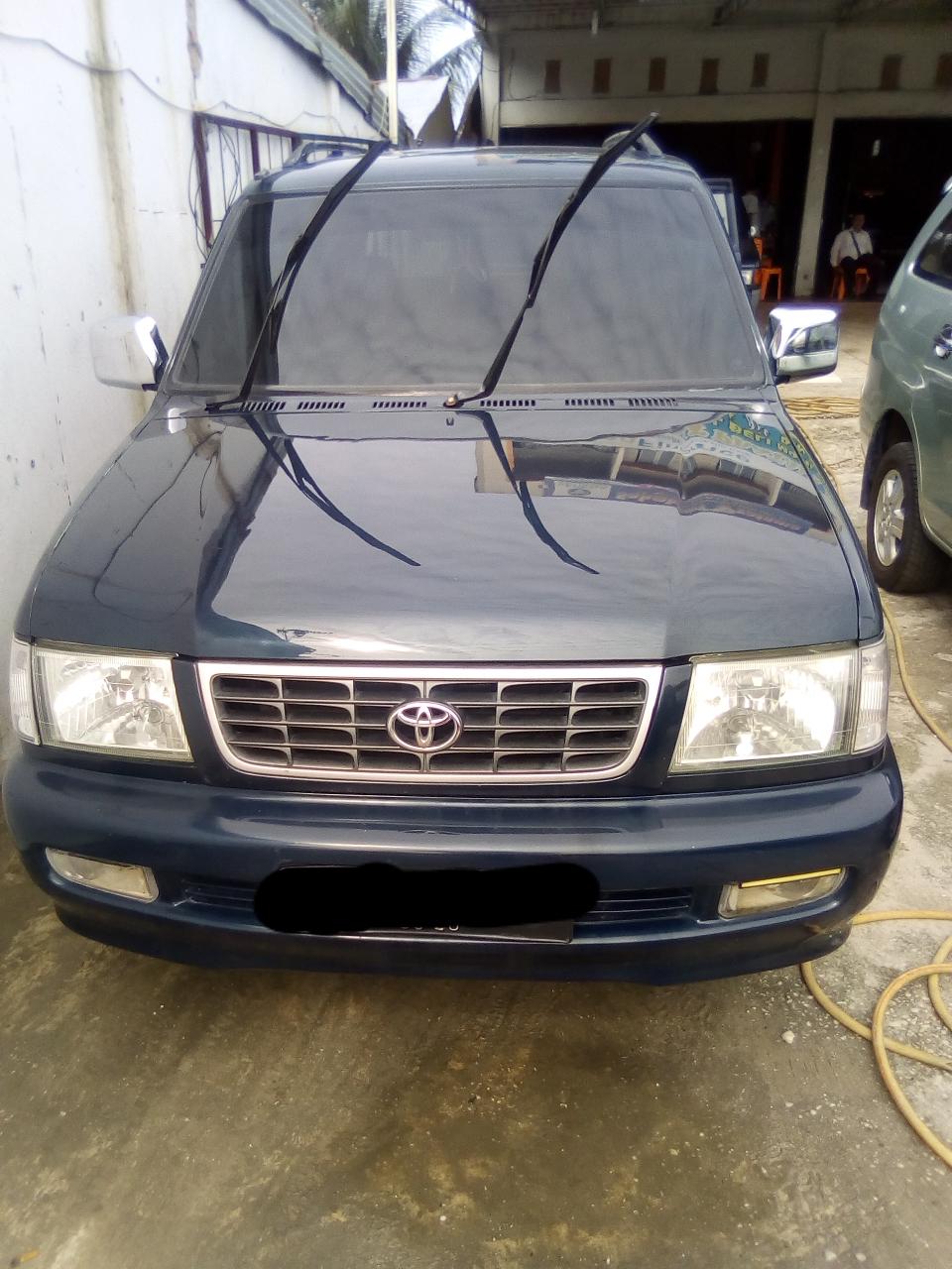 Dijual Toyota Kijang Ssx Thn 2001 Abu Baim Jual Beli Mobil Bekas