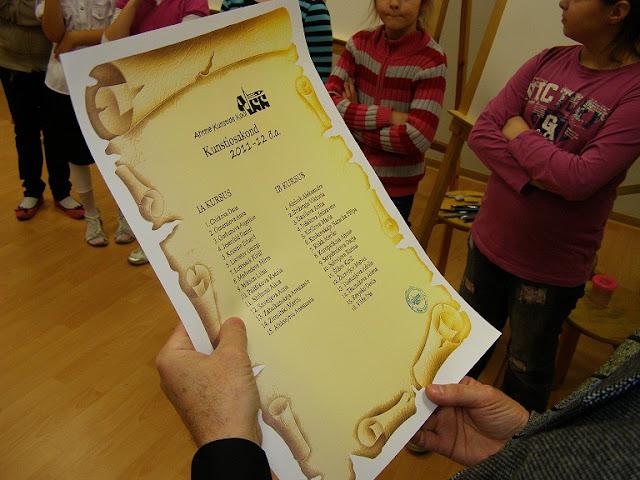 Kunstiosakonda sisseastunud laste pühitsemine 2011 - PB170406.JPG