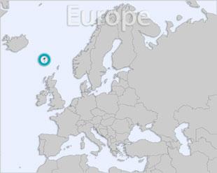 Faroe Islands location map