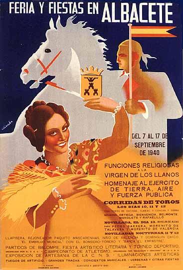 Cartel Feria Albacete 1940