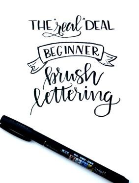 beginner lettering