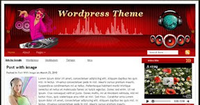 Free Wordpress Theme - DJHarmony
