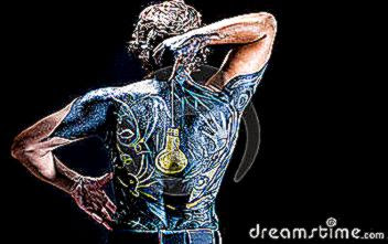 body art man 12376792
