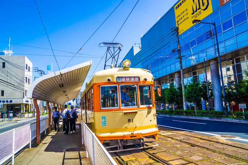 松山 路面電車 1