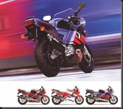 Honda CBR600F2 91  2