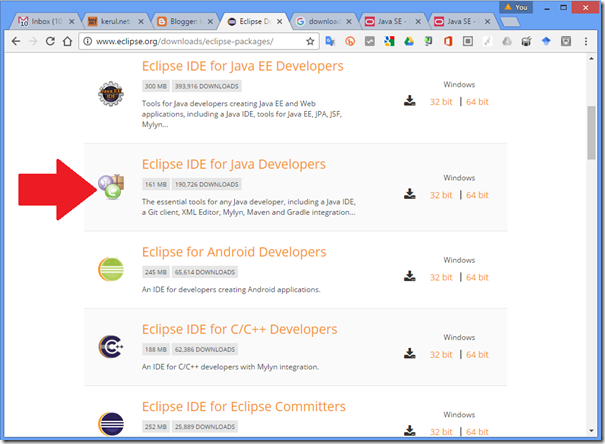 kerul net: Eclipse Java IDE
