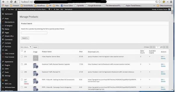 WordPress Shopping Cart Plugin - WPeStore Product Management