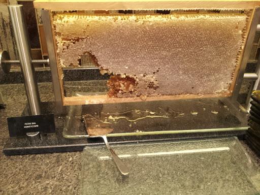 fresh honeycomb at Renaissance Hotel Istanbul