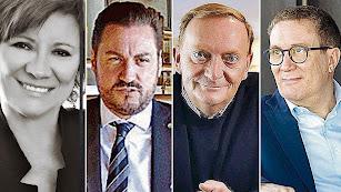Los autores participantes en 'VeraLibro' son Nativel Preciado, José María Vaquero, Gonzalo Giner y Luisgé Martín.