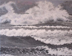 La Bora Falconara I, olio su tela, 80 x 100 cm 2005 SOLD
