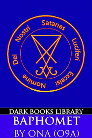 Cover of Order of Nine Angles's Book Baphomet (An Esoteric Signification)