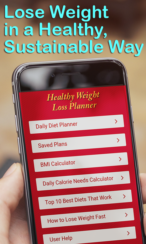 Healthy Weight Loss Planner- screenshot