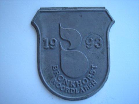 Naam: BronkhorstPlaats: NoordlarenJaartal: 1993