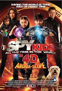 Điệp Viên Nhí: Kẻ Cắp Thời Gian - Spy Kids: All The Time In The World 4d poster