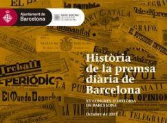 Congres Historia de la premsa diaria de Barcelona