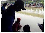 Saklek, Aparat Bubarkan Lomba Mancing Berhadiah Mobil di Waringin Karya , Karawang