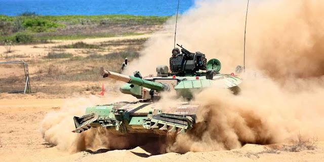 Arjun Mark-1A Main Battle Tank (MBT)