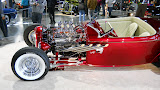 That is our Drag Star, Fenton valve covers and plug covers.. Sylvester a show car from 50's brought back even better.