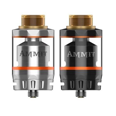 geekvape ammit dual coil rta 2 1 thumb%25255B2%25255D - 【RTA】「GEEKVAPE AMMIT デュアルコイルRTA」レビュー!ポストレスデッキと3Dエアフロー、ジュースコントロール付きAMMITのマイナーチェンジ版