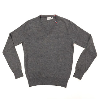 Moncler V-Neck Sweater