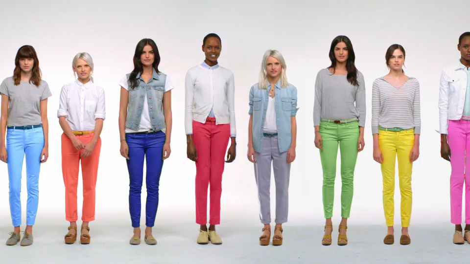 The Gap Denim Gets Colorful In New Spring Collection Ad