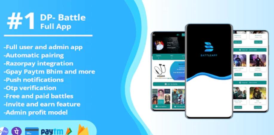 DP Battle App Source Code