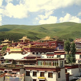 Massive religious gathering and enthronement of Dalai Lama's portrait in Lithang, Tibet. - l26.JPG