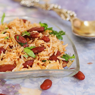 Rajma Rice / Rajma Mint Rice