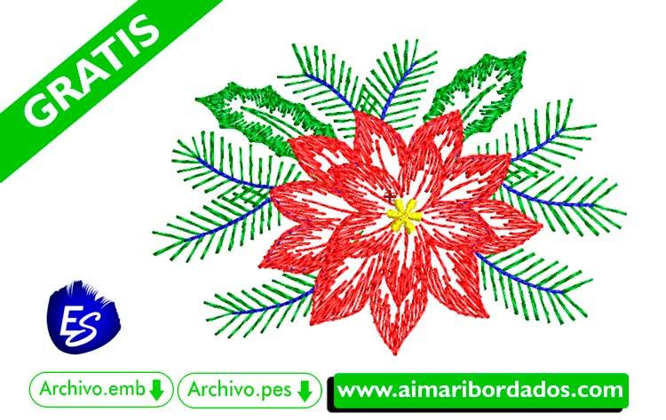 Adornos de navidad para bordar a máquina DESCARGA GRATIS