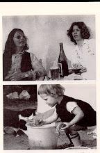 Photo: HANDKE AS ROCKSTAR AND FIRST WIFE LIBGART SCHWARTZ AND DAUGHTER AMINA