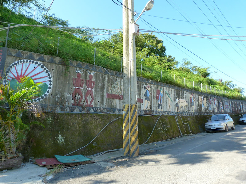 Tainan County.De Dona village à Meinong via Sandimen en scooter.J 12 - P1220386.JPG
