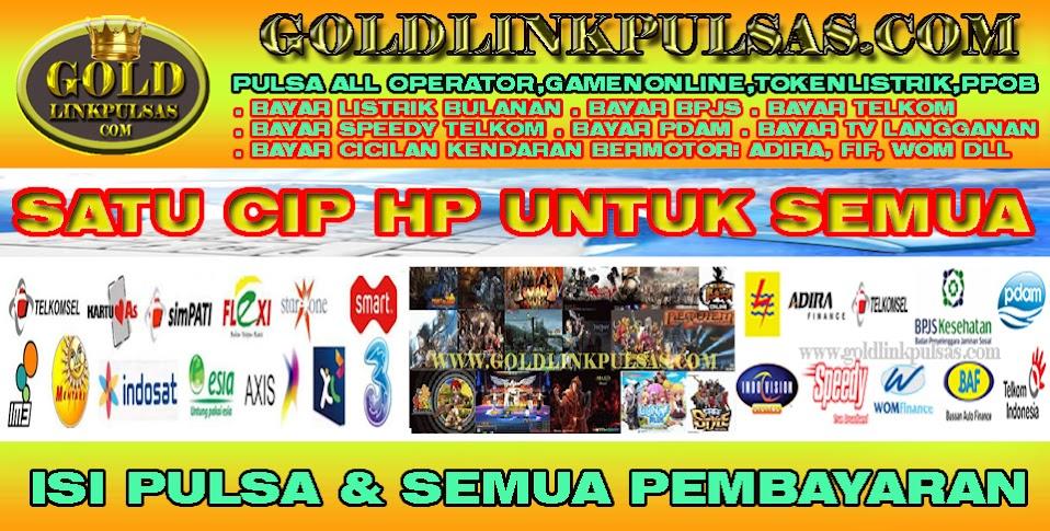 Pulsa murah nasional,Spanduk Banner Jual Pulsa Goldlinkpulsa