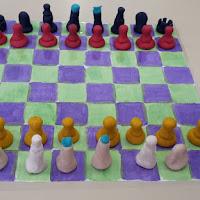 Schaakborden ontwerpen 6de lj