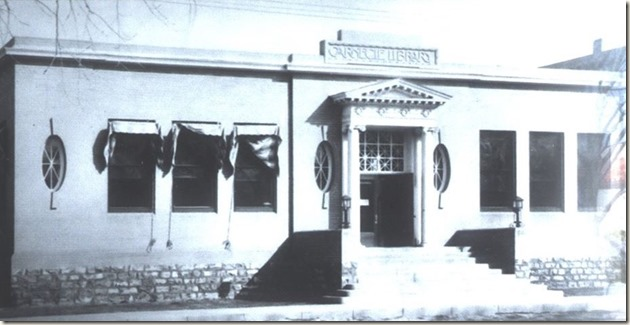 An old pic Roswell Carnegie Library